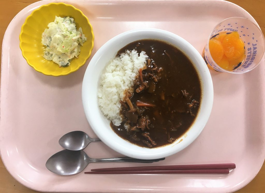 本日の昼食🍛
