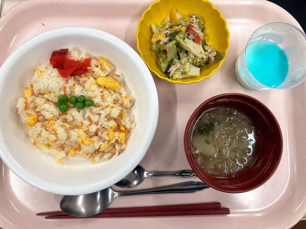 本日の昼食🐼🍚
